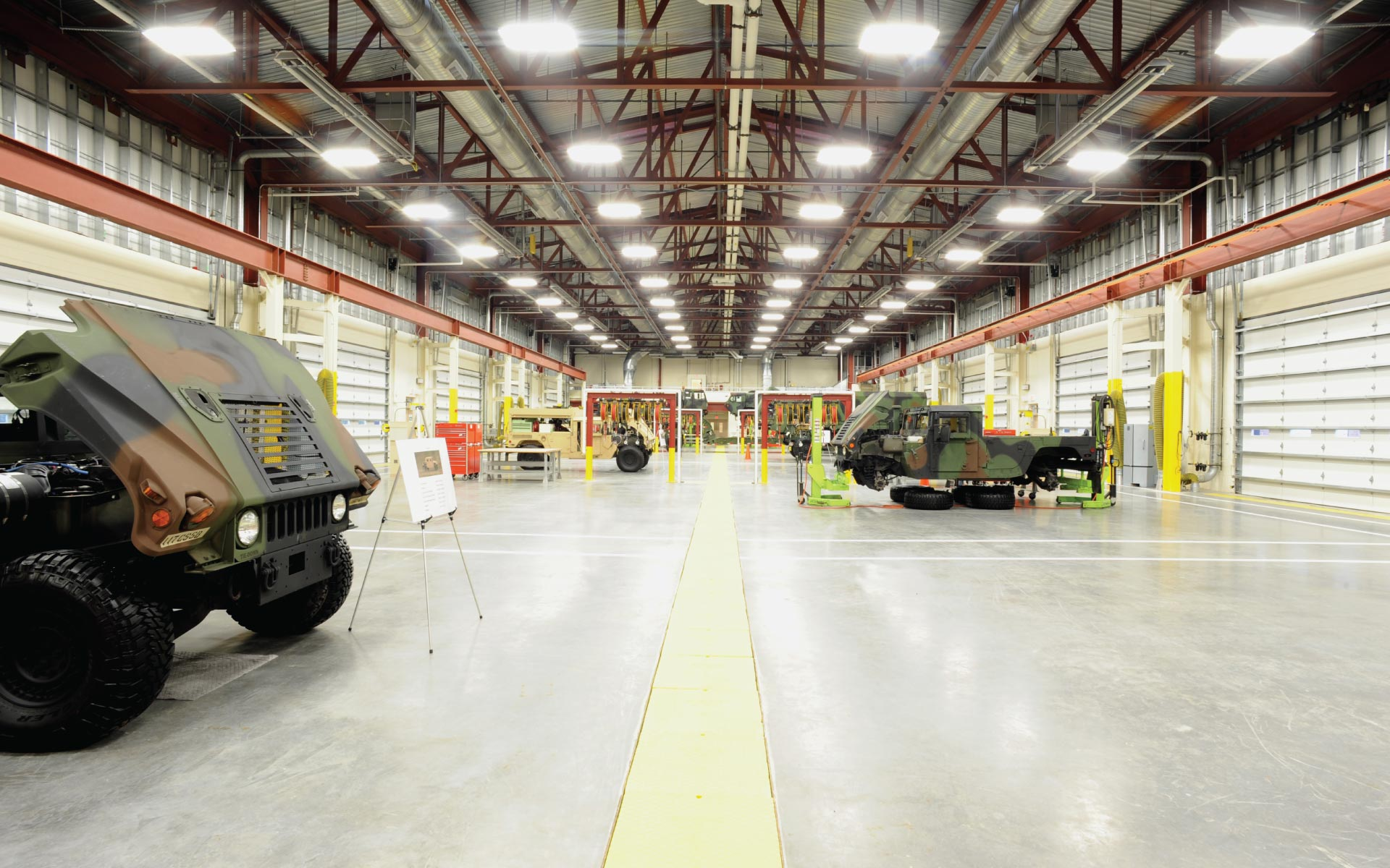 Combined Support and Maintenance Shops Facility